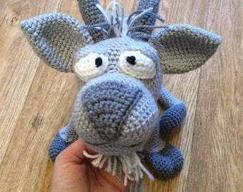 Gus the goat soft toy character