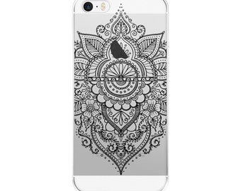 Iphone 6 Case Clear With Design, Iphone 5s Case Clear, Iphone Case Clear, Iphone Case Mandala, Iphone 7 Case Clear, Mandala Phone Case