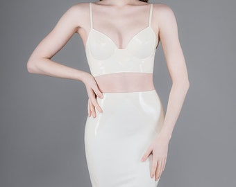 Verve Skirt - Chronomatic Luxury Latex Wear