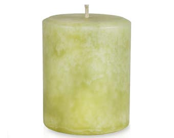 JenSan Bayberry Candle Pillar for Christmas Holiday - Handmade -  Free Shipping
