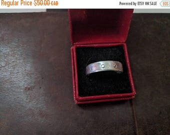 ON SALE Vintage Sterling Silver Ring