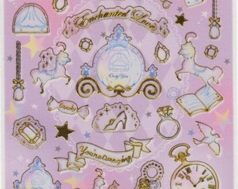 Fairytale Stickers - Princess Stickers - Fantasy Stickers - Reference A4700-01