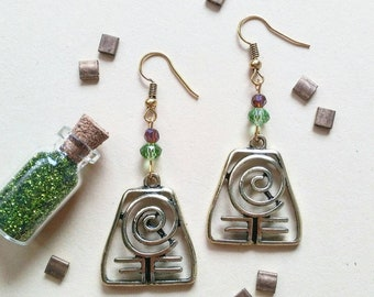 82) Avatar Earrings Earth Earth