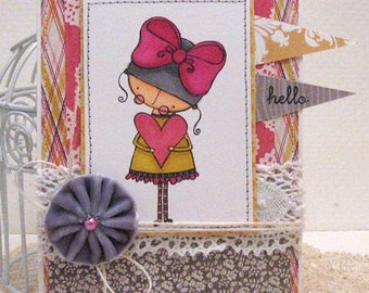 hello - Card and Envelope