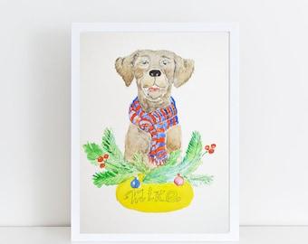 Original pet portrait, Custom pet portrait, Original watercolor, Dog portrait, Pet portrait, Pet portrait comission, Dog lover, Dog Wall art