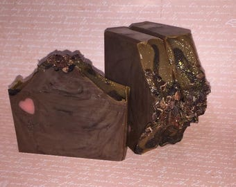 I Love You A Choco-Lot | Handcrafted Artisan Soap | Cold Process | Palm Free | Luxury Soap | Gift for Her | Valentines Day Gift