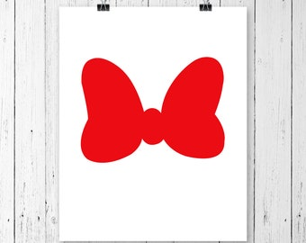 INSTANT DOWNLOAD! Minnie Mouse Bow Svg, Minnie mouse bow, Minnie Mouse Head, Vector Minnie Mouse Bow, minnie mouse cute bow