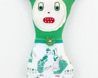 Handmade Art Doll - Johanna