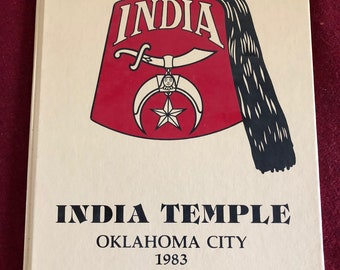 India Temple Oklahoma City, OK/1983/40 pages/Lots of Pictures/Temple History/Free SH to US/Great Condition#639