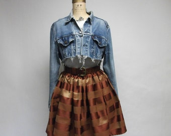 Handmade Stripey Skirt
