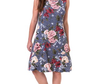 Simple Floral Dresses for Women