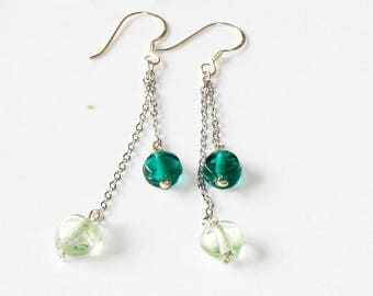 "Earrings brass ""Crown boreal 31"""