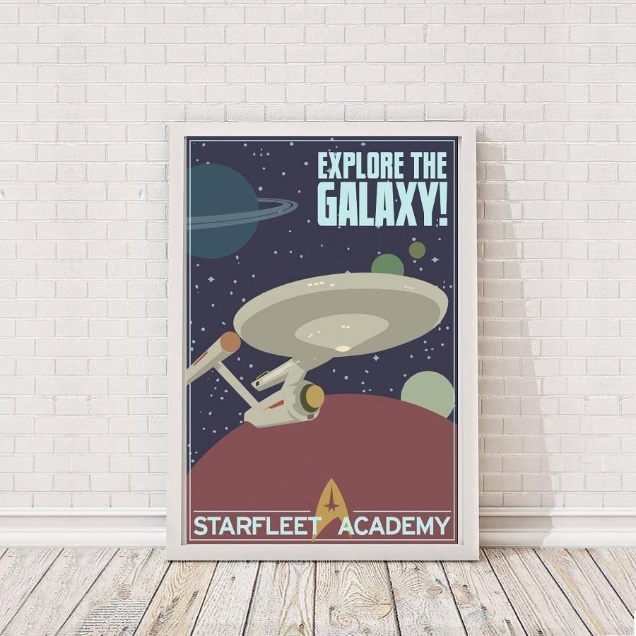 Star Trek Rekrutierung Poster Art Film Poster Filmplakat