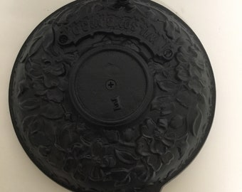 Antiques Cast Iron Wood Stove Lid Cover Wilsons