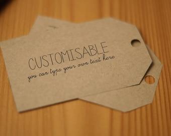 Handmade with love EDITABLE Gift tags 1 Digital Download PDF