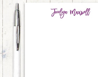 personalized notePAD - PERFECTLY CAREFREE - stationery - letter writing paper - writing notepad - girl stationary