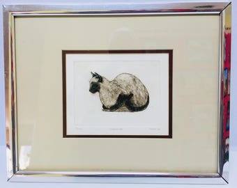 COMPANION By KEITH LEE - Signed and Numbered Original Print (17/100)