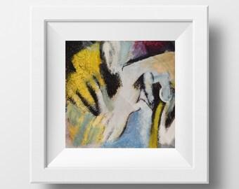 Adolescence, 22 x 22 cm, Instant Download, Art Deco