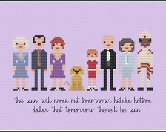 8-Bit Wonder - Annie PDF Cross-Stitch Pattern