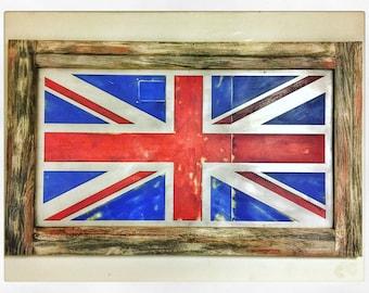 Union Jack Flag Art