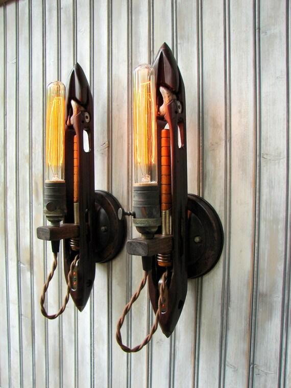 Wall Lighting - Wall Sconce - Lighting Fixture - Industrial Light