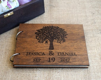 rustic wedding guest book/ wood guest book / tree guest book / wooden guest book / wood wedding guest book / anniversary gift / guest book