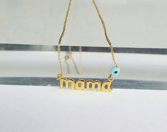 Mama Necklace,  Mother's Day Jewelry, New mom necklace, Mom Necklace, Gifts for Mom, mother , mom