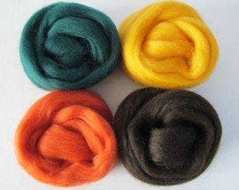Maple Tree Wool Sampler 2oz