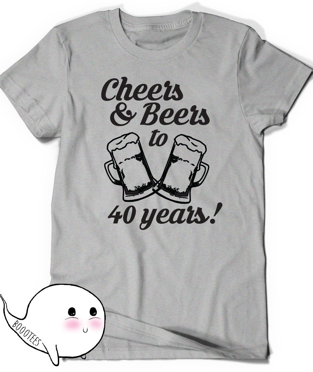 40th Birthday T Shirts For Him