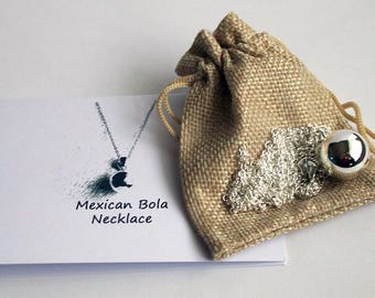 Pregnancy Necklace ~ Mexican Bola Necklace ~ Mum To Be Gift ~ Baby Shower Gift ~ Pregnancy Gift ~ Maternity Necklace ~ Harmony Bell