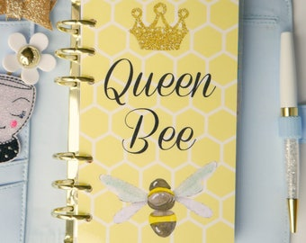 Queen Bee Personal, A5, A6, B6 and Pocket Size Planner Dashboards