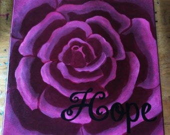 Burgundy Hope Rose