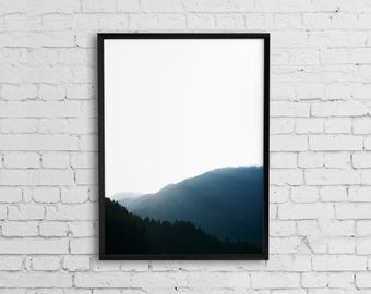 Landscape photography print, Nature art, Photography print, Landscape wall art, Forest print, Fine art photography, Printable wall art