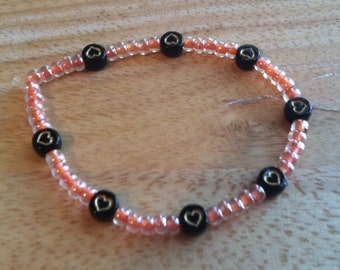 Hearts Bracelet Stretchy