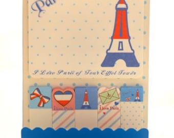 Memo and sticks: I love Paris
