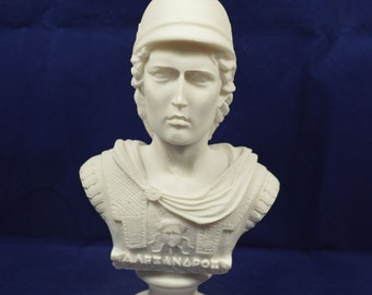 Alexander the Great bust sculpture Macedonian king