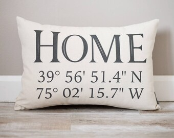 Housewarming Gift | First Home Gift for Couple | Personalized House Warming Gifts | New Home | First Home Gift | Home | Coordinates | GPS