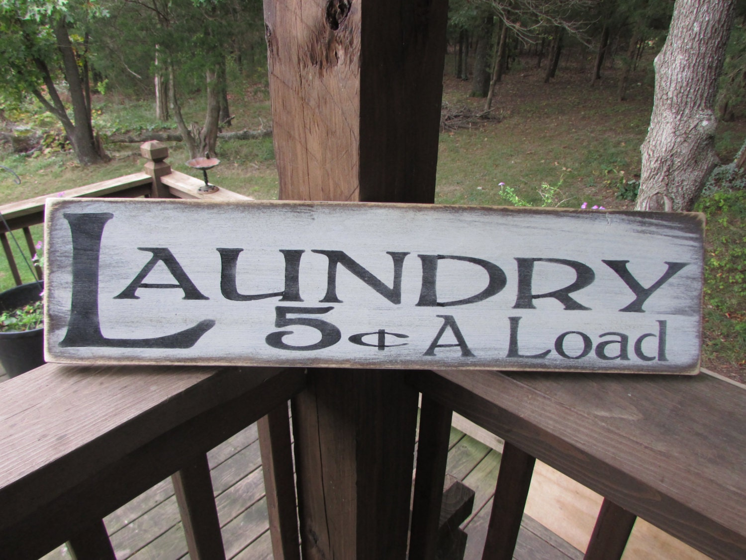 Wooden Laundry Sign Primitive Laundry Sign Wood Sign Laundry Sign Laundry