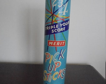 Vintage Merit Pick Up Sticks - 1950s