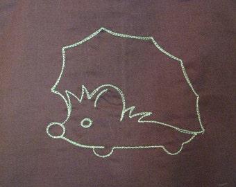 HedgehogTote Bag Shopping Bag Diaper Bag