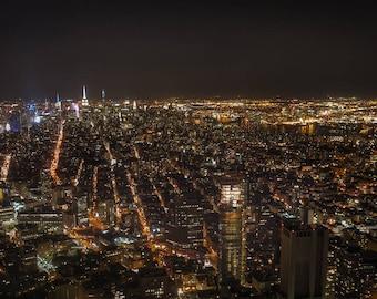 NYC Panorama - 11x20 digital print