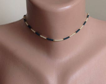 chokers,glass beaded,necklaces,jewelry,daily jewelry, simple, crystal, beads, crystal chokers,boho,avant garde