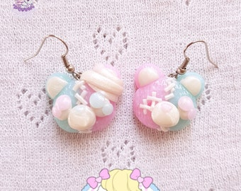 Broken Twins earrings menhera yamikawaii