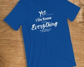 ICU Nurse T-Shirt I Know ...