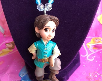Toddler Flynn Necklace - Little Flynn Necklace - Prince Flynn Necklace - Kids Jewelry - Rapunzel - Flynn and Rapunzel - Fairy Princess