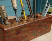 The Reclaimed Timber Desk Caddy  No.030- XL