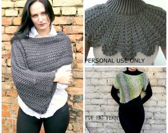Free crochet pattern, Free crochet sweater pattern, Crochet pattern, Crochet shrug pattern, Crochet Cowl Pattern, Buy two get one for free