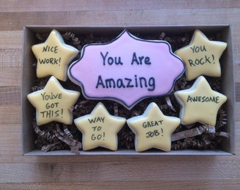 You are amazing cookie gift box
