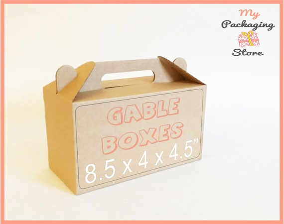 10 gable lunch boxes picnic box idea kraft boxes school boxes paper 10 gable lunch boxes picnic box idea kraft boxes school boxes paper box portable box food box take away box birthday party gift box ideas from forumfinder Gallery