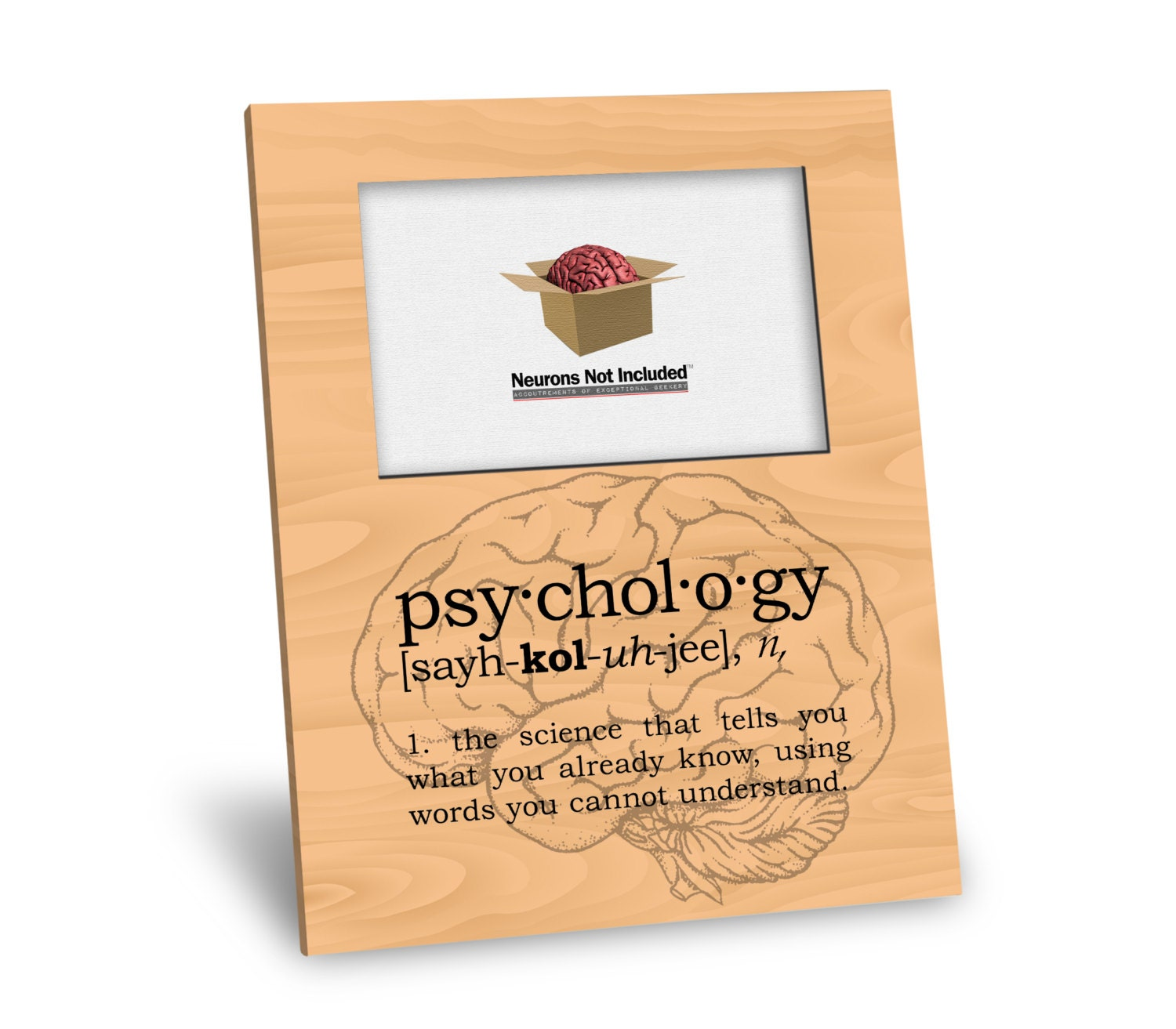 Psychology Definition Picture Frame - Personalization Available ...